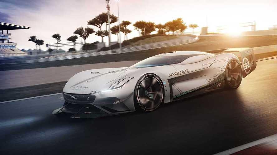 Jaguar dévoile son concept Vision Gran Turismo SV