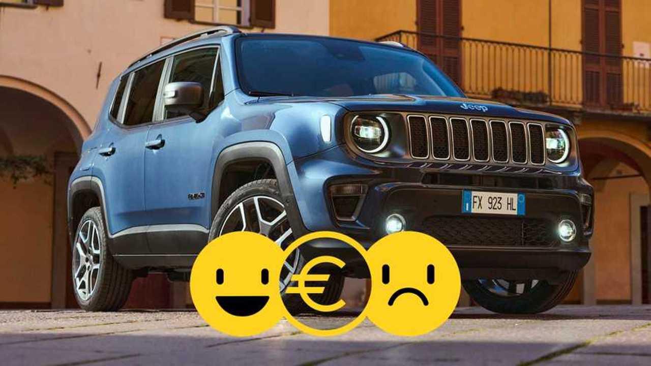 Promozione Jeep Renegade 4xe gennaio 2021
