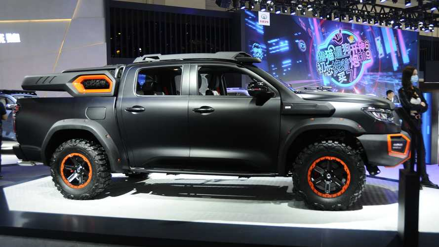 Great Wall Black Bullet Concept Exterior Side Profile