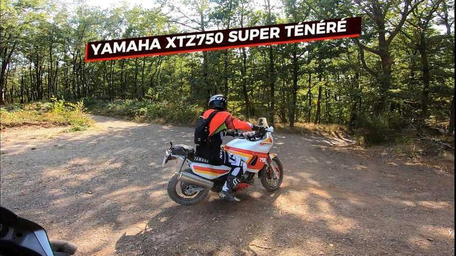 Witness The Off-Road Magic Of A 1990 Yamaha XTZ 750 Super Ténéré
