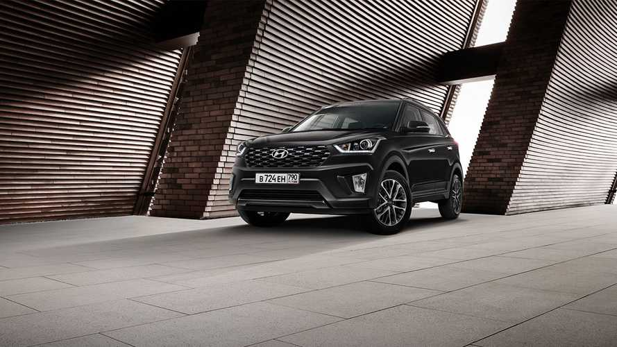 Hyundai Creta Black&Brown и Tucson Black&Brown для России (2020)