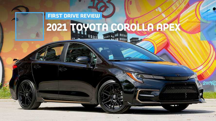 2021 Toyota Corolla Apex First Drive Review: A Bad Take On A Great Idea