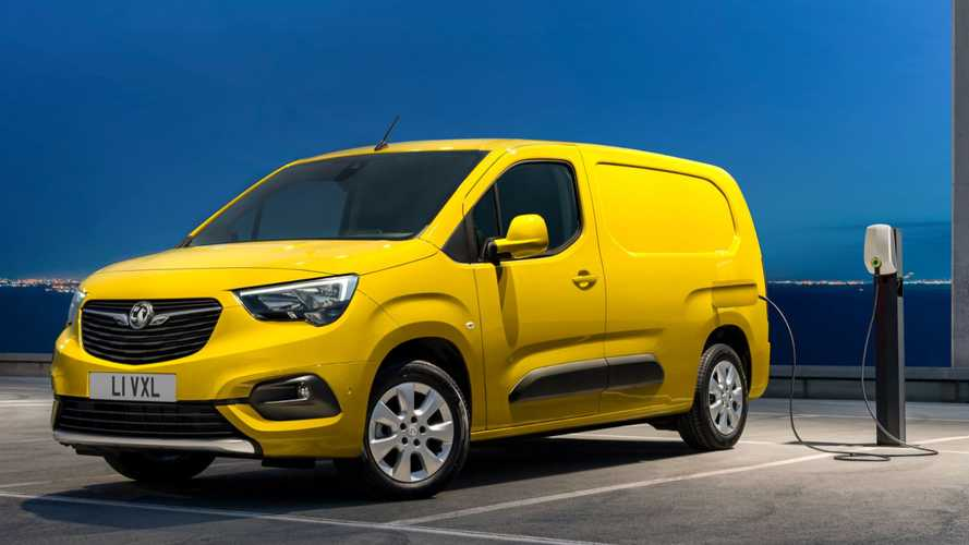 Vauxhall begins taking orders for new Combo-e electric van