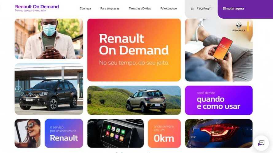 Carro por assinatura: Renault On Demand começa com Kwid por R$ 869 mensais
