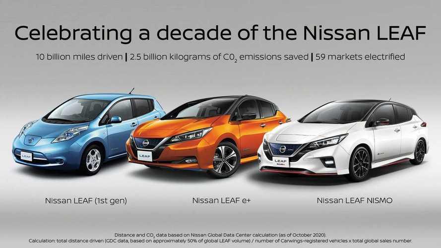 Satu Dekade Nissan LEAF, Sudah Jual 500 Ribu Unit di Seluruh Dunia