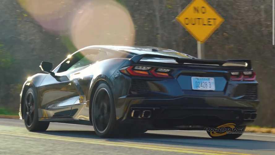 Dengarkan Supercharged Pertama Chevy Corvette C8 dalam Teaser Pendek