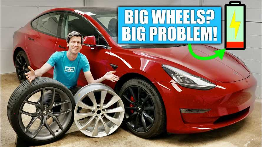 This video shows how tyres can make a massive difference for EVs