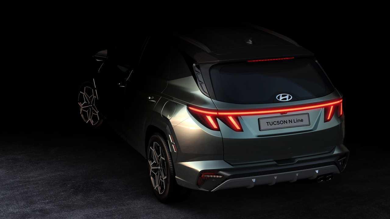 Hyundai Tucson N Line 2021, primeras fotos