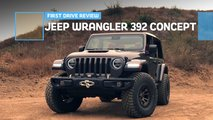 jeep wrangler 392 concept first drive