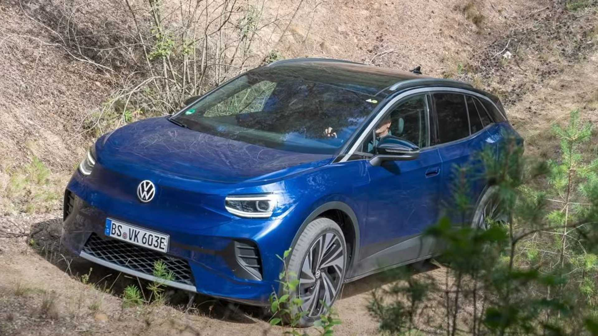 2021 Volkswagen ID.4 Electric SUV Prototype: First Drive ...