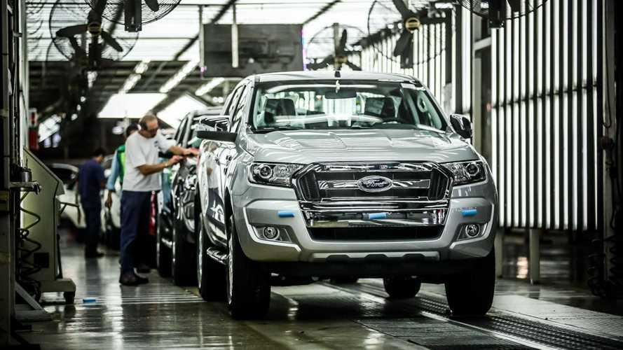 Ford Ranger alcança 900 mil unidades produzidas na Argentina desde 1996