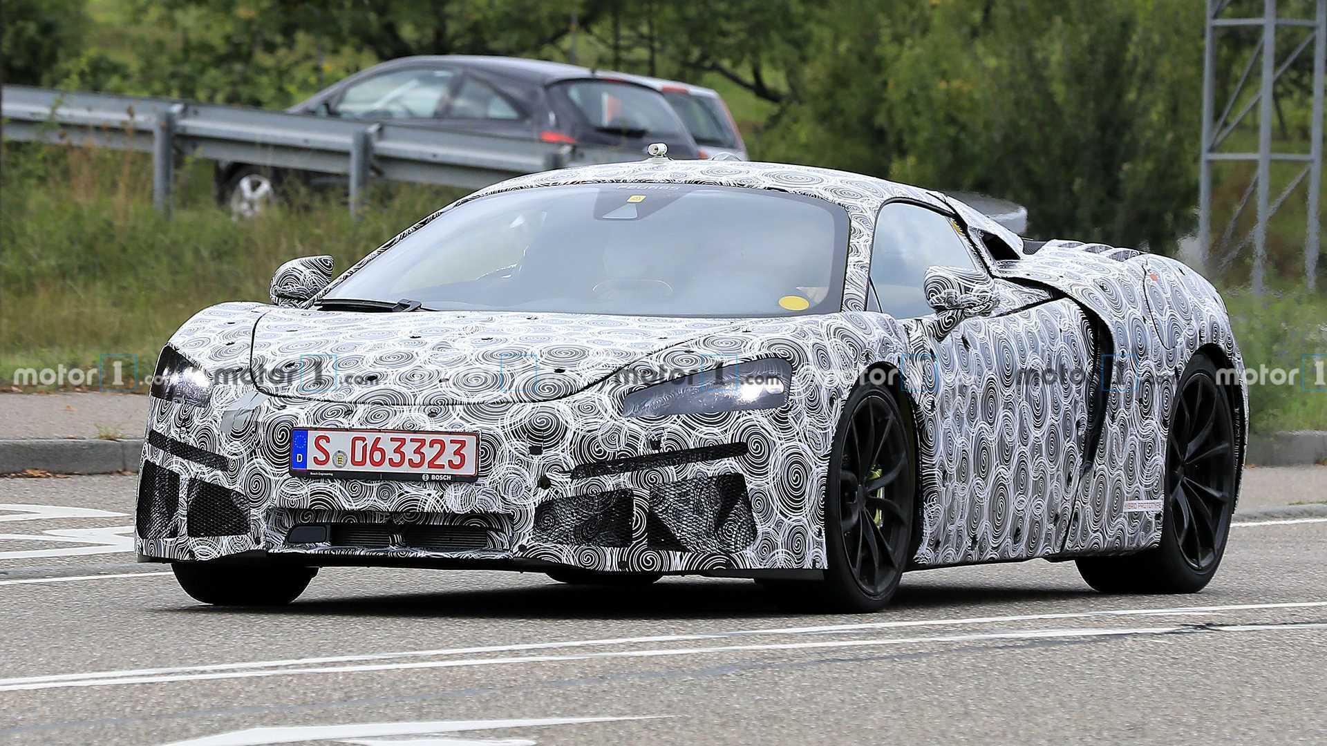 McLaren Sports Series Hybrid Front Spy Photo