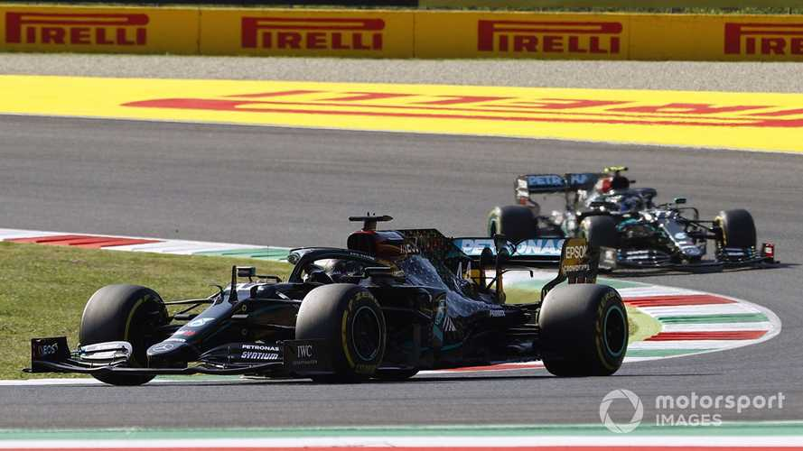 Tuscan GP: Hamilton wins crash-filled Mugello race