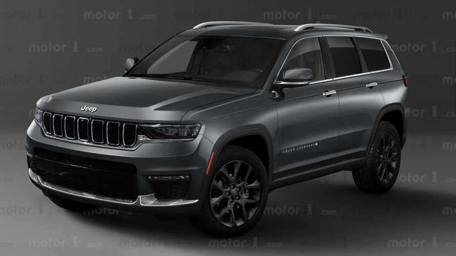 Jeep Grand Cherokee, il rendering della prossima generazione