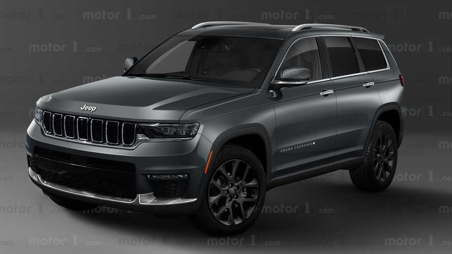 Novo Jeep Grand Cherokee 2022 - Projeções