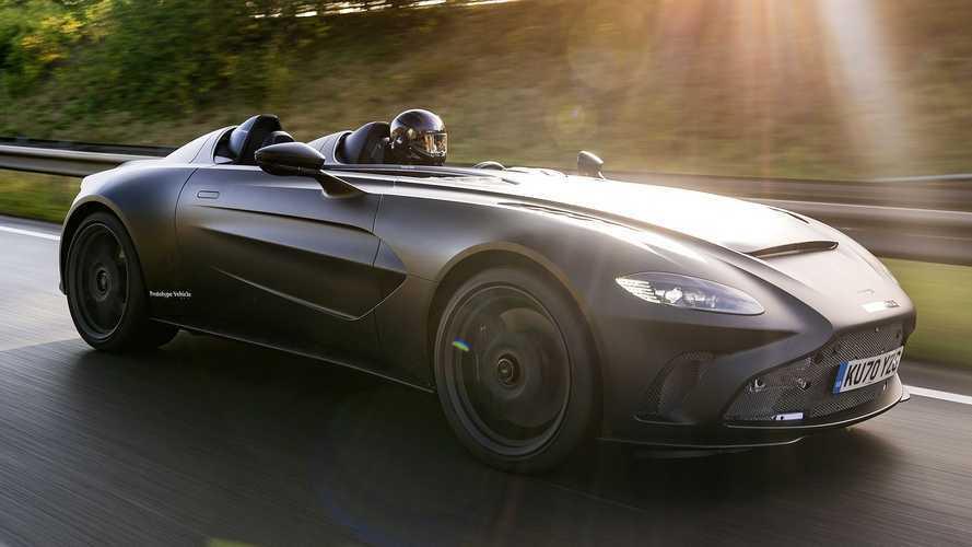 El Aston Martin V12 Speedster se encuentra en plena fase de pruebas