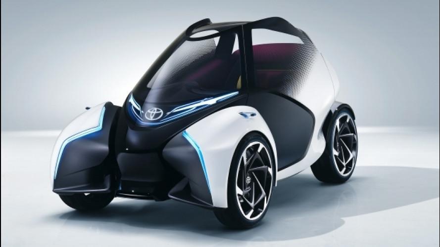 Toyota i-TRIL Concept, pensato per le mamme [VIDEO]