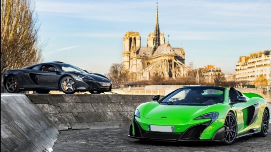 McLaren, due edizioni limitate a Parigi
