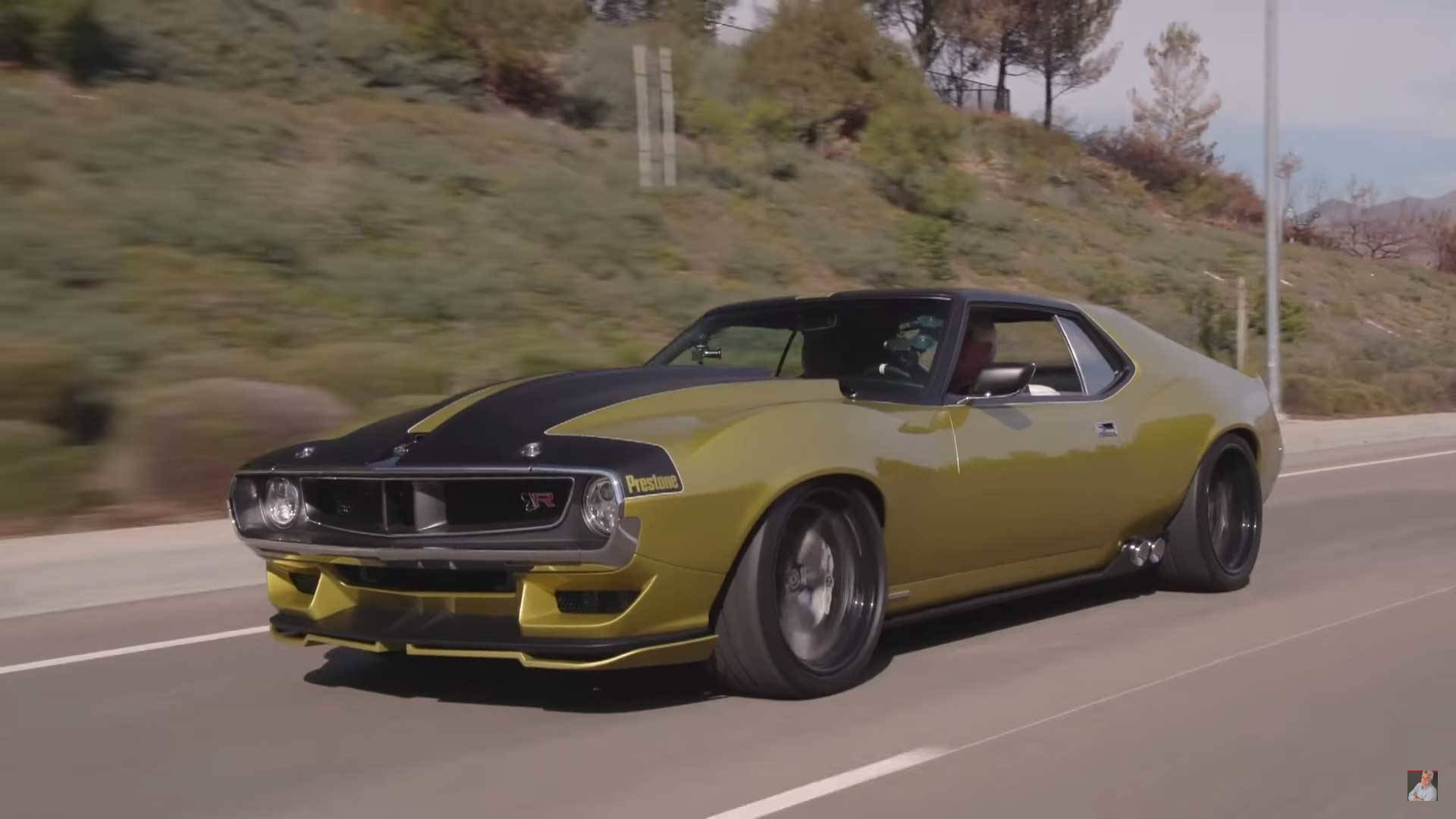 This Awesome Amc Javelin Is A Custom Built 1 100 Hp Dream Machine
