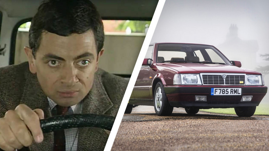 Mr. Bean vende la sua Lancia Thema Ferrari