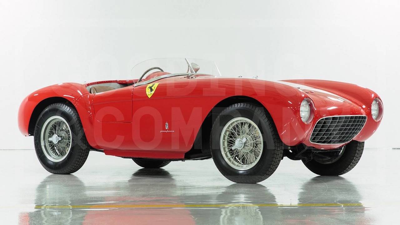 3. 1954 Ferrari 500 Mondial Spider: $4,455,000