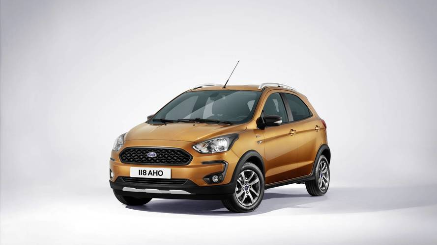 Updated Ford Ka+ gets a rugged Active model