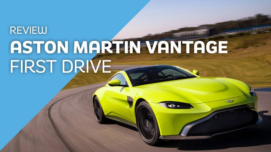 2018 Aston Martin V8 Vantage first drive: It's turbo time