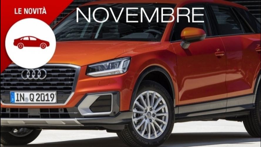 Novità auto, novembre è il mese dei crossover