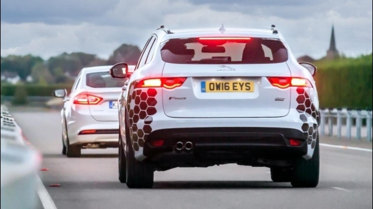 [Copertina] - Jaguar-Land Rover, verso la guida autonoma con Ford