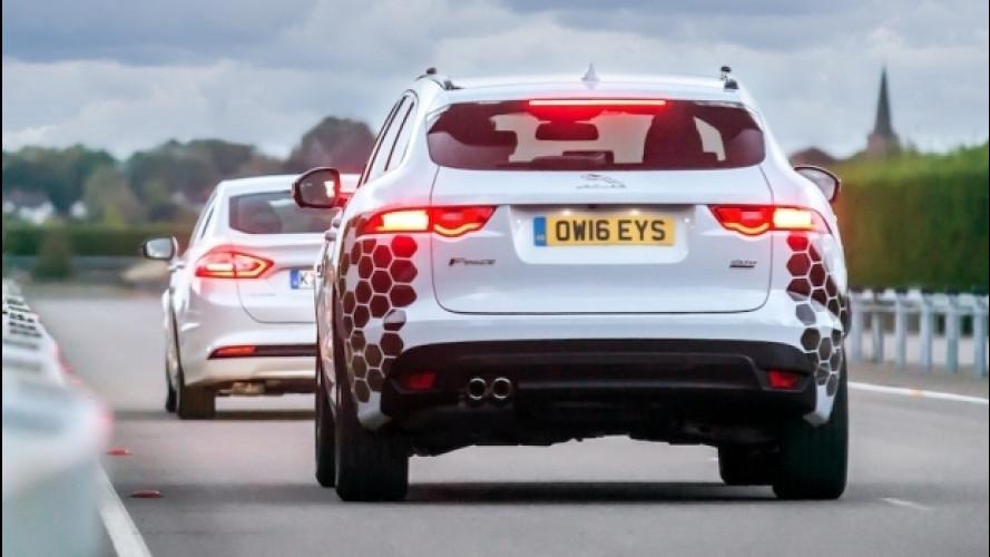 Jaguar-Land Rover, verso la guida autonoma con Ford