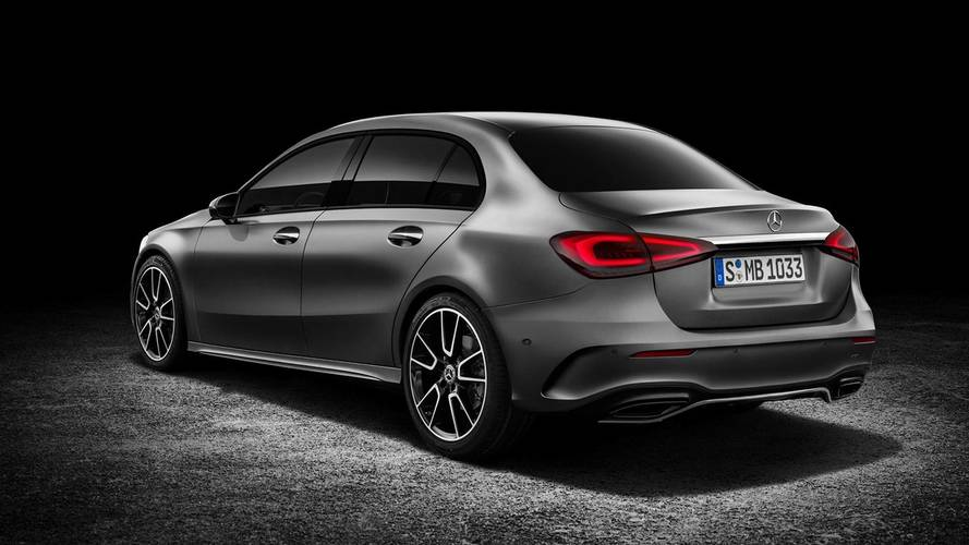 Mercedes A-Class Sedan Rendering