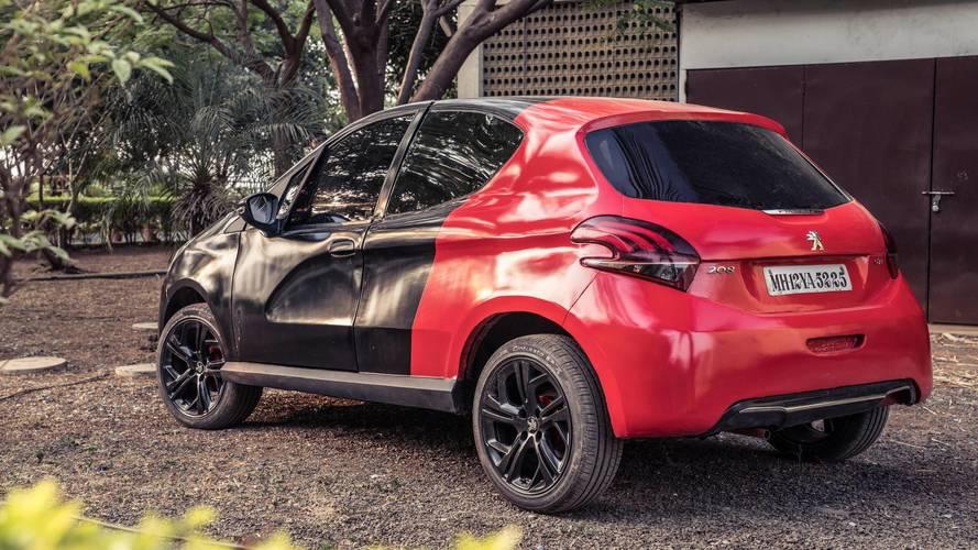 Peugeot fête les 20 ans de la 206 avec une 208 GTi difforme