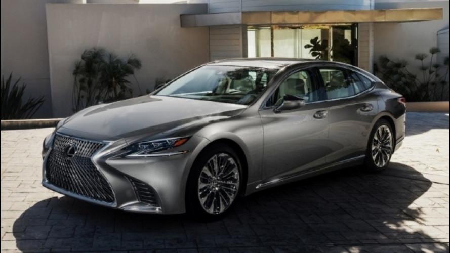 """Nuova Lexus LS, """"tutto di più"""""""