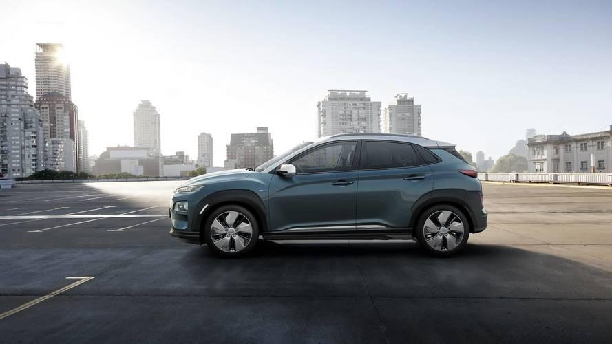 Elektrikli Hyundai Kona 470 kilometreye kadar yol yapabilecek