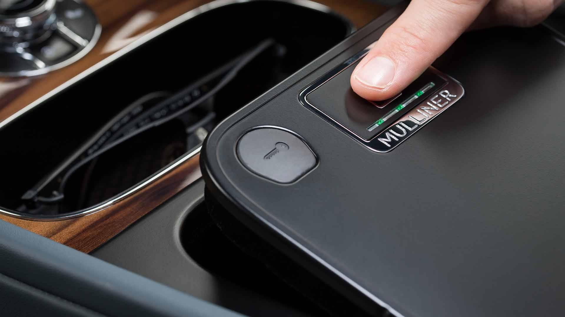 Bentley Bentayga Gets Fingerprint Scanner For Hiding Valuables