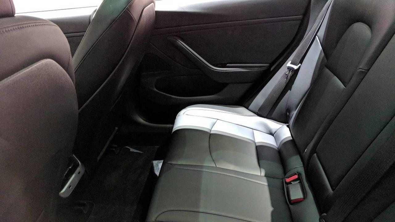 Tesla Model 3 rear heated seats