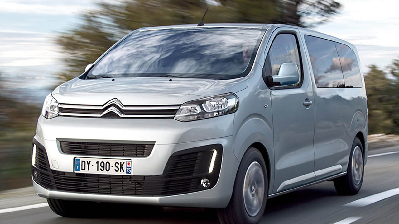 Große Vans: Citroën Spacetourer & Co.
