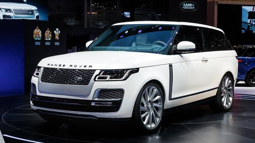 2019 Land Rover Range Rover SV Coupe: Geneva 2018