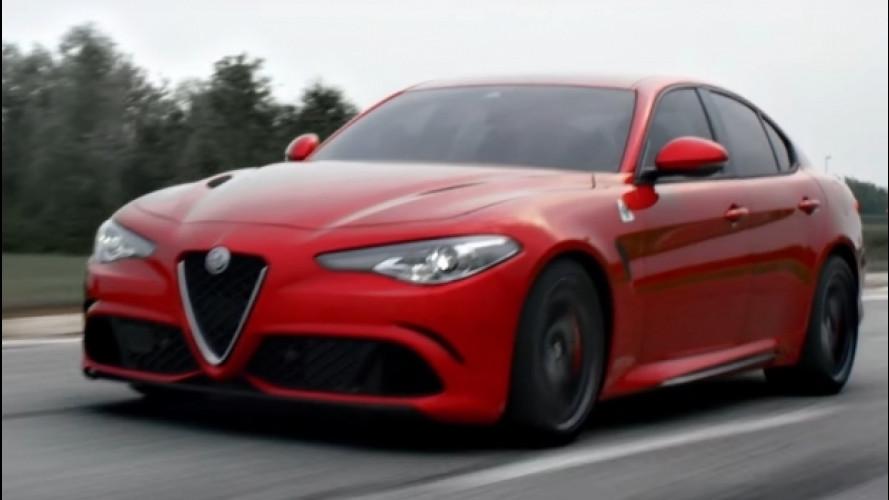 Alfa Romeo Giulia, tre spot