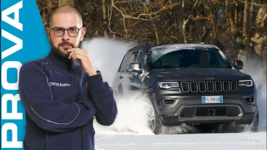 Jeep Grand Cherokee, ha il fuoristrada nell'indole [VIDEO]
