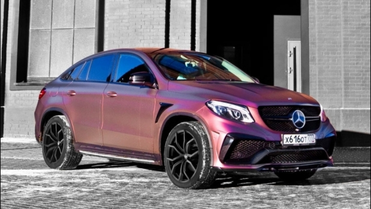 [Copertina] - Mercedes-AMG GLE 63 LARTE Design, una