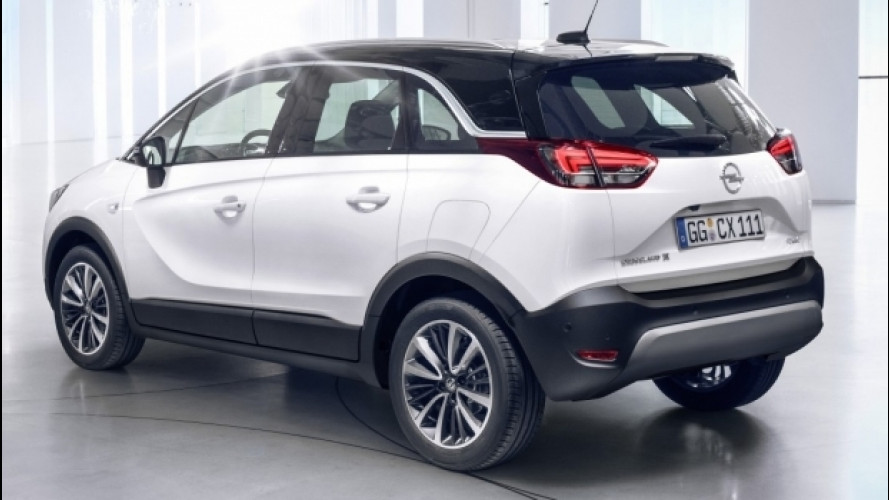 Opel Crossland X, la presentazione in diretta streaming [VIDEO]