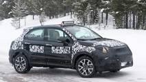 2019 Fiat 500X facelift spy photo