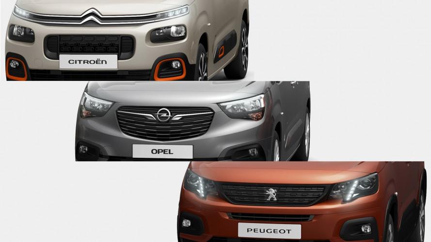 PSA, arrivano nuovi multispazio Citroen, Opel e Peugeot