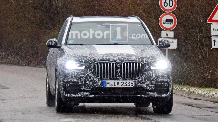 BMW X5 photos espion