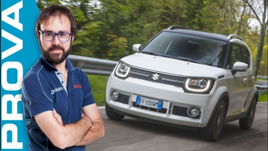 Suzuki Ignis, la prova dell'anti-Panda 4x4 [VIDEO]