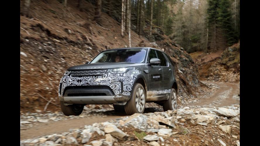 Nuova Land Rover Discovery, la nostra prova nel fango scozzese [VIDEO]