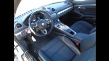 Porsche 718 Cayman, test di consumo reale Roma-Forlì 020