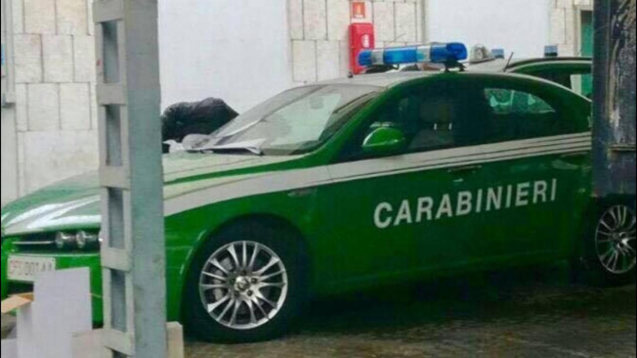 [Copertina] - Forestali ai Carabinieri, come cambiano le auto