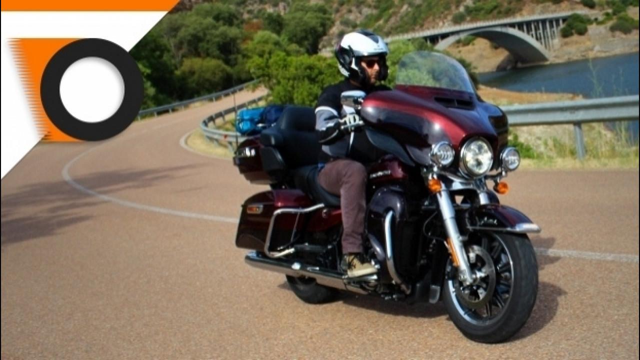[Copertina] - Harley-Davidson, 3.000 km con l'ammiraglia